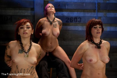 Photo number 9 from 4 Girl Auditions-Day 4  Blowjobs, Fucking, and a 4 Girl Sybian Ride shot for The Training Of O on Kink.com. Featuring Akira Raine, Sofia Lauryn, Maestro, Rozen Debowe and Odile in hardcore BDSM & Fetish porn.