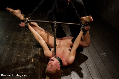 Photo number 1 from Bondage Babe Suffers for Your Pleasure shot for Device Bondage on Kink.com. Featuring Dee Williams in hardcore BDSM & Fetish porn.