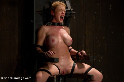 Photo number 13 from Bondage Babe Suffers for Your Pleasure shot for Device Bondage on Kink.com. Featuring Dee Williams in hardcore BDSM & Fetish porn.