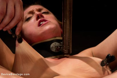 Photo number 3 from Bondage Babe Suffers for Your Pleasure shot for Device Bondage on Kink.com. Featuring Dee Williams in hardcore BDSM & Fetish porn.