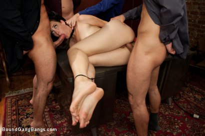 Photo number 4 from Office Slut shot for Bound Gang Bangs on Kink.com. Featuring Kimberly Kane, James Deen, John Strong, Mr. Pete and Mark Wood in hardcore BDSM & Fetish porn.
