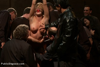 Photo number 4 from Ass Queen Amy Brooke Gets Fisted and DP'ed shot for Public Disgrace on Kink.com. Featuring James Deen, Amy Brooke and Princess Donna Dolore in hardcore BDSM & Fetish porn.