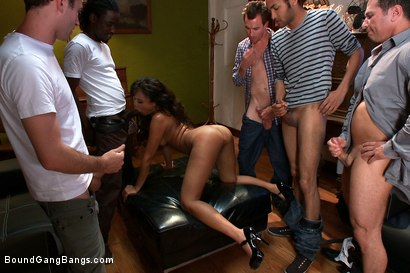 Photo number 15 from Looking for a Gangbang shot for Bound Gang Bangs on Kink.com. Featuring Annie Cruz, James Deen, John Strong, Mickey Mod, Marco Banderas, Bobby Bends and Dietrich Cyrus in hardcore BDSM & Fetish porn.