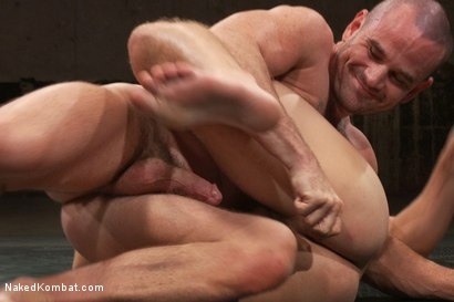 Photo number 8 from Mike Rivers vs Ethan Ayers shot for Naked Kombat on Kink.com. Featuring Ethan Ayers and Mike Rivers in hardcore BDSM & Fetish porn.