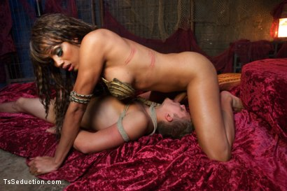 Photo number 11 from The Mermaid: The Siren of Seduction shot for TS Seduction on Kink.com. Featuring Yasmin Lee and Micah Andrews in hardcore BDSM & Fetish porn.