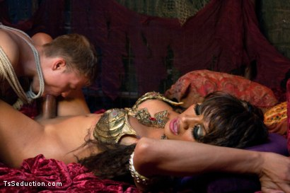 Photo number 9 from The Mermaid: The Siren of Seduction shot for TS Seduction on Kink.com. Featuring Yasmin Lee and Micah Andrews in hardcore BDSM & Fetish porn.
