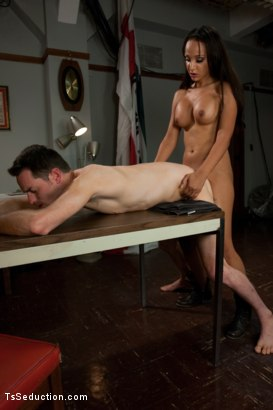 Photo number 10 from Brand New Ts Hotness: Introducing Sunshyne Monroe shot for TS Seduction on Kink.com. Featuring Sunshyne Monroe and Leo in hardcore BDSM & Fetish porn.