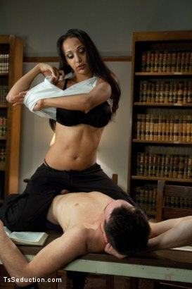 Photo number 4 from Brand New Ts Hotness: Introducing Sunshyne Monroe shot for TS Seduction on Kink.com. Featuring Sunshyne Monroe and Leo in hardcore BDSM & Fetish porn.