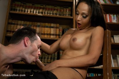 Photo number 5 from Brand New Ts Hotness: Introducing Sunshyne Monroe shot for TS Seduction on Kink.com. Featuring Sunshyne Monroe and Leo in hardcore BDSM & Fetish porn.