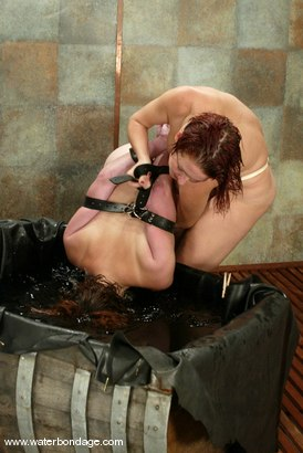 Photo number 13 from Ginger and Sonya shot for Water Bondage on Kink.com. Featuring Ginger and Sonya in hardcore BDSM & Fetish porn.