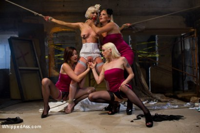 Photo number 4 from A Very Cherry Wedding shot for Whipped Ass on Kink.com. Featuring Maitresse Madeline Marlowe , Lorelei Lee, Cherry Torn and Dia Zerva in hardcore BDSM & Fetish porn.