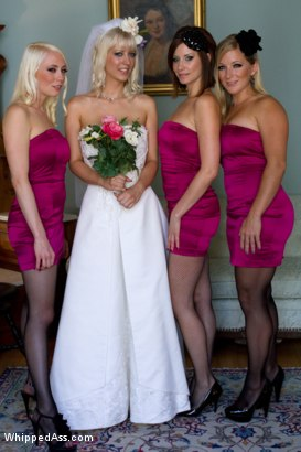 Photo number 1 from A Very Cherry Wedding shot for Whipped Ass on Kink.com. Featuring Maitresse Madeline Marlowe , Lorelei Lee, Cherry Torn and Dia Zerva in hardcore BDSM & Fetish porn.