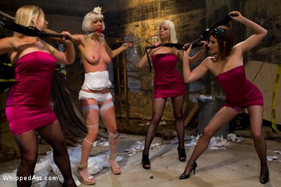 Photo number 3 from A Very Cherry Wedding shot for Whipped Ass on Kink.com. Featuring Maitresse Madeline Marlowe , Lorelei Lee, Cherry Torn and Dia Zerva in hardcore BDSM & Fetish porn.