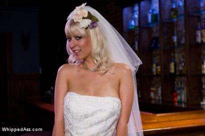 Bride dress rip gangbang