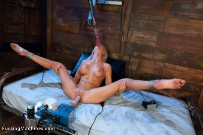 Photo number 7 from Beautiful Blonde MidWest Girl Stuffed Full with Machines shot for Fucking Machines on Kink.com. Featuring Kaylee Hilton in hardcore BDSM & Fetish porn.