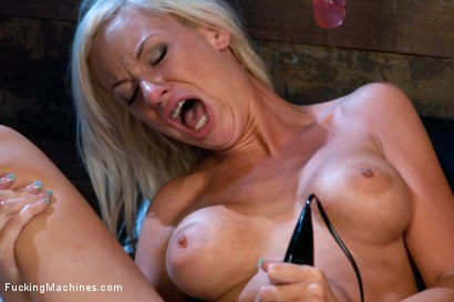 Photo number 10 from Beautiful Blonde MidWest Girl Stuffed Full with Machines shot for Fucking Machines on Kink.com. Featuring Kaylee Hilton in hardcore BDSM & Fetish porn.