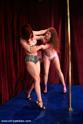 Photo number 2 from Lena Ramon and Sonya shot for Whipped Ass on Kink.com. Featuring Lena Ramon and Sonya in hardcore BDSM & Fetish porn.