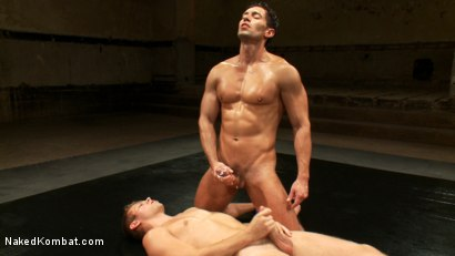 Photo number 4 from Two Boyfriends Go Head to Head shot for Naked Kombat on Kink.com. Featuring Mike Rivers and Alexander Garrett in hardcore BDSM & Fetish porn.