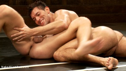 Photo number 8 from Two Boyfriends Go Head to Head shot for Naked Kombat on Kink.com. Featuring Mike Rivers and Alexander Garrett in hardcore BDSM & Fetish porn.