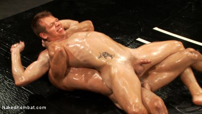 Photo number 10 from Two Boyfriends Go Head to Head shot for Naked Kombat on Kink.com. Featuring Mike Rivers and Alexander Garrett in hardcore BDSM & Fetish porn.
