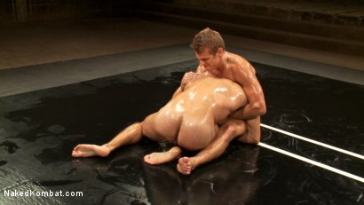 Photo number 11 from Two Boyfriends Go Head to Head shot for Naked Kombat on Kink.com. Featuring Mike Rivers and Alexander Garrett in hardcore BDSM & Fetish porn.
