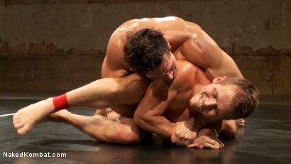 Photo number 13 from Two Boyfriends Go Head to Head shot for Naked Kombat on Kink.com. Featuring Mike Rivers and Alexander Garrett in hardcore BDSM & Fetish porn.