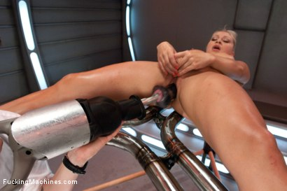 Photo number 3 from How do you Shag a Five Time Gold Medal Romanian Gymnast?  shot for Fucking Machines on Kink.com. Featuring Lea Lexis in hardcore BDSM & Fetish porn.