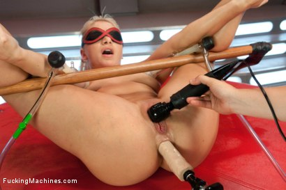 Photo number 6 from Only One Machine Can Keep Up: The Fucksall shot for Fucking Machines on Kink.com. Featuring Lea Lexis in hardcore BDSM & Fetish porn.