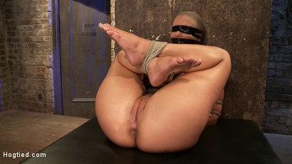 Photo number 14 from Phoenix Marie FINALLY & brutally orgasmed to near insanity<br>We overload her with orgasms NO MERCY! shot for Hogtied on Kink.com. Featuring Phoenix Marie in hardcore BDSM & Fetish porn.