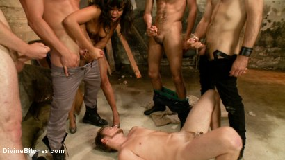 Photo number 9 from Cuckold Gangbang shot for Divine Bitches on Kink.com. Featuring Master Avery, Mickey Mod, Annie Cruz, Parker London, Wolf Hudson and Sebastian Keys in hardcore BDSM & Fetish porn.