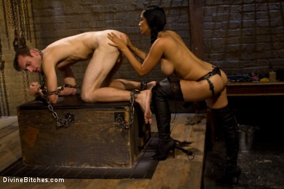 Photo number 14 from Dream Come True shot for Divine Bitches on Kink.com. Featuring Isis Love and Blake in hardcore BDSM & Fetish porn.