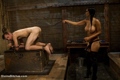 Photo number 5 from Dream Come True shot for Divine Bitches on Kink.com. Featuring Isis Love and Blake in hardcore BDSM & Fetish porn.