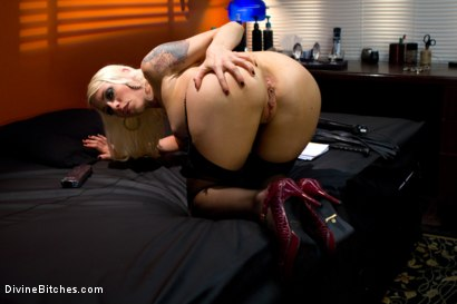 Photo number 4 from FemDom POV: Putting YOU in the hot seat! shot for Divine Bitches on Kink.com. Featuring Lorelei Lee and DJ in hardcore BDSM & Fetish porn.