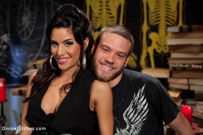 Photo number 1 from Gia FUCKING Dimarco gives a prostate milking so intense you have to see it to believe it! shot for Divine Bitches on Kink.com. Featuring Gia DiMarco and Jesse Carl in hardcore BDSM & Fetish porn.