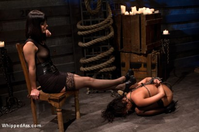 Photo number 15 from Annie Fuckin Cruz shot for Whipped Ass on Kink.com. Featuring Bobbi Starr and Annie Cruz in hardcore BDSM & Fetish porn.