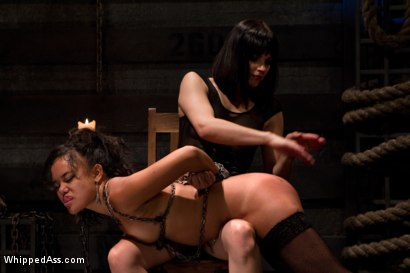 Photo number 6 from Annie Fuckin Cruz shot for Whipped Ass on Kink.com. Featuring Bobbi Starr and Annie Cruz in hardcore BDSM & Fetish porn.