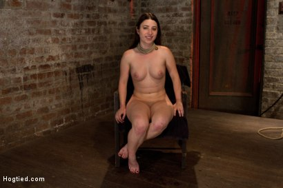 Photo number 15 from Tiny 5'0 100lb girl in the ultimate fuck me position. Orgasm overload to the max! Massive squirting. shot for Hogtied on Kink.com. Featuring Serena Blair in hardcore BDSM & Fetish porn.