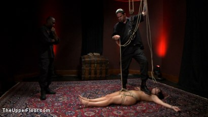 Photo number 22 from The Destruction of Ashli Orion shot for The Upper Floor on Kink.com. Featuring Ashli  Orion and Jack Hammer in hardcore BDSM & Fetish porn.
