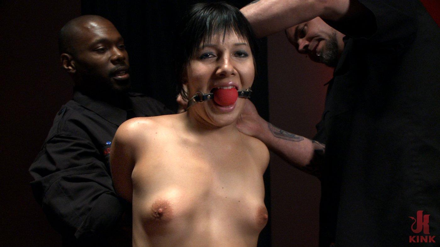 Photo number 7 from The Destruction of Ashli Orion shot for The Upper Floor on Kink.com. Featuring Ashli  Orion and Jack Hammer in hardcore BDSM & Fetish porn.
