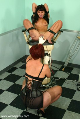 Photo number 3 from Roxy Jezel and Sonya shot for Wired Pussy on Kink.com. Featuring Roxy Jezel and Sonya in hardcore BDSM & Fetish porn.
