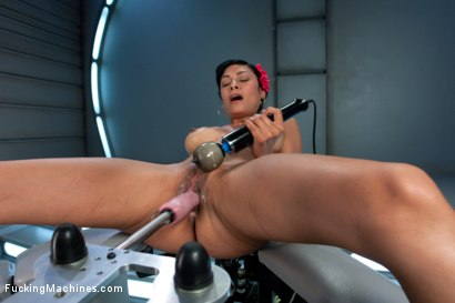 Photo number 12 from Audition Shoot: Her First Porn shot for Fucking Machines on Kink.com. Featuring Beretta James in hardcore BDSM & Fetish porn.