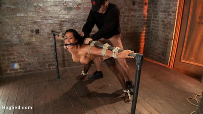 Photo number 10 from Isis Love, bound, gagged, flogged, fucked to multiple orgasms. Her first submissive role in years! shot for Hogtied on Kink.com. Featuring Isis Love in hardcore BDSM & Fetish porn.