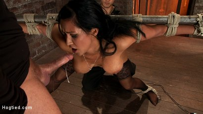Photo number 11 from Isis Love, bound, gagged, flogged, fucked to multiple orgasms. Her first submissive role in years! shot for Hogtied on Kink.com. Featuring Isis Love in hardcore BDSM & Fetish porn.
