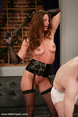 Photo number 7 from Michael J Cox and Kym Wilde shot for Men In Pain on Kink.com. Featuring Michael J Cox and Kym Wilde in hardcore BDSM & Fetish porn.