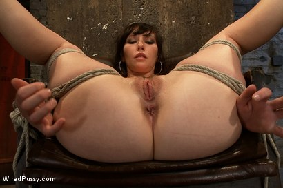 Photo number 10 from Total Amateur Gets Tied up and Dominated for the First time Ever shot for Wired Pussy on Kink.com. Featuring Natalie and Princess Donna Dolore in hardcore BDSM & Fetish porn.