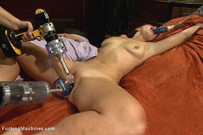 Photo number 5 from Fucked Wide Open By Machines: New Girl Cums like she NEVER has Before shot for Fucking Machines on Kink.com. Featuring Audrey Rose in hardcore BDSM & Fetish porn.