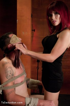 Photo number 1 from The House of Yes: The Wealthy Bachelor's Last Fantasy Before Marriage shot for TS Seduction on Kink.com. Featuring Jonny Blaze and Eva Lin in hardcore BDSM & Fetish porn.