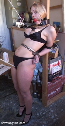 Photo number 6 from Rhannion shot for Hogtied on Kink.com. Featuring Rhannion in hardcore BDSM & Fetish porn.