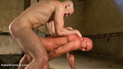 Photo number 9 from Tober's Back! shot for Naked Kombat on Kink.com. Featuring Chad Brock and Tober Brandt in hardcore BDSM & Fetish porn.