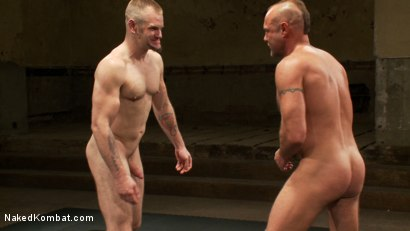 Photo number 15 from Tober's Back! shot for Naked Kombat on Kink.com. Featuring Chad Brock and Tober Brandt in hardcore BDSM & Fetish porn.